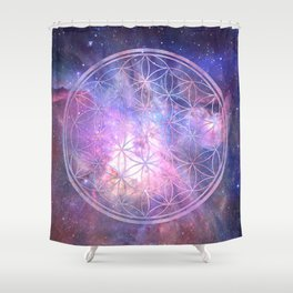 Sacred Geometry 9 Shower Curtain