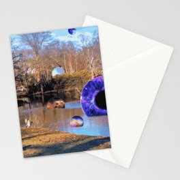 magical environment Stationery Cards