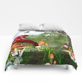 Dwarves Land Comforters