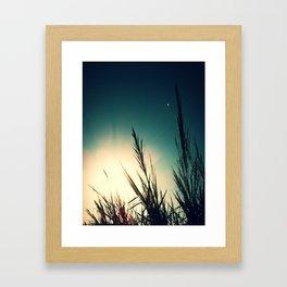 Sunset again Framed Art Print