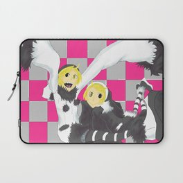 Loki and Noki (BW) Laptop Sleeve