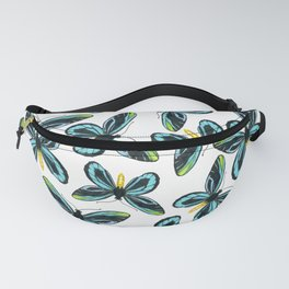 Queen Alexandra' s birdwing butterfly pattern design Fanny Pack