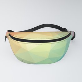 LOWPOLY RAINBOW Fanny Pack