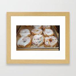 Sweet Sprinkled Carbs Framed Art Print