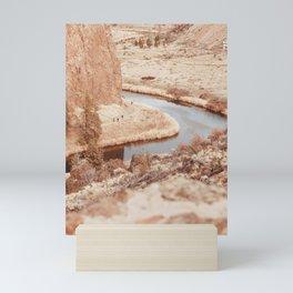Smith Rock #photography #oregon #smithrock Mini Art Print