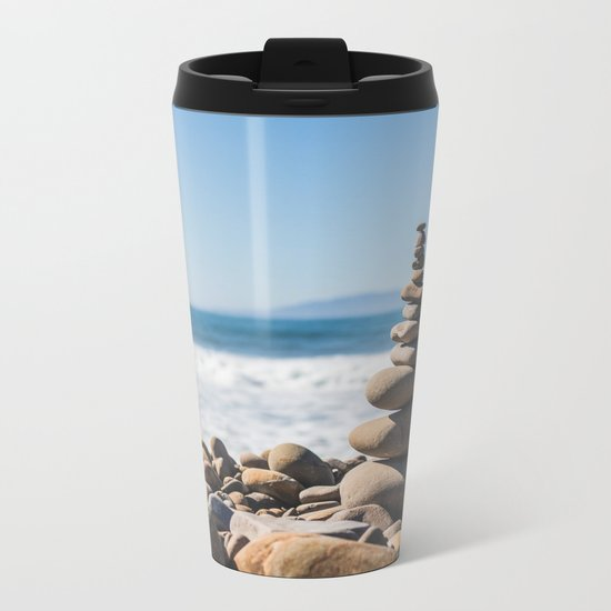 Summer Solstice Metal Travel Mug