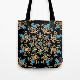 Turkish tulip - Ottoman tile 4 Tote Bag