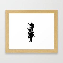samurai jap Framed Art Print