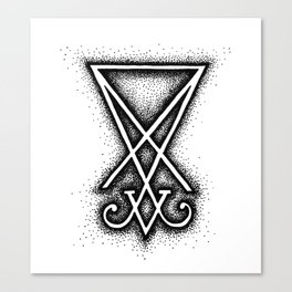 Sigil Of Lucifer Canvas Print