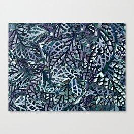 Tropical Jungle Leaves Mosaic #decor #buyartprints #society6 #botanical Canvas Print
