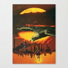 Girls at Sunset (2014) Canvas Print