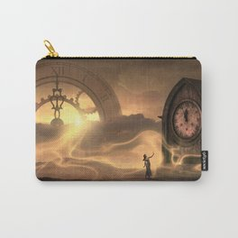 Time Worlds -- Carry-All Pouch