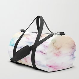 Rainbow Marble Pattern Duffle Bag