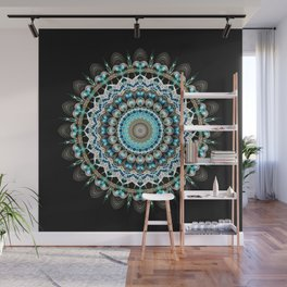Mandala antique jewelry Wall Mural