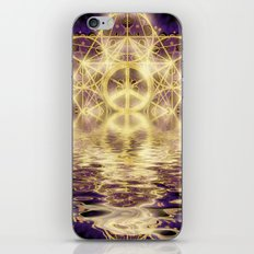 Geometry Peace Reflections iPhone Skin