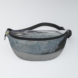 TEXTURES -- A Face of Portage Glacier Fanny Pack