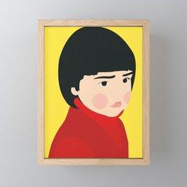Osaka Girl Framed Mini Art Print