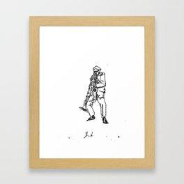 rahsaan Framed Art Print