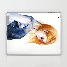 heliotropic girl Laptop & iPad Skin