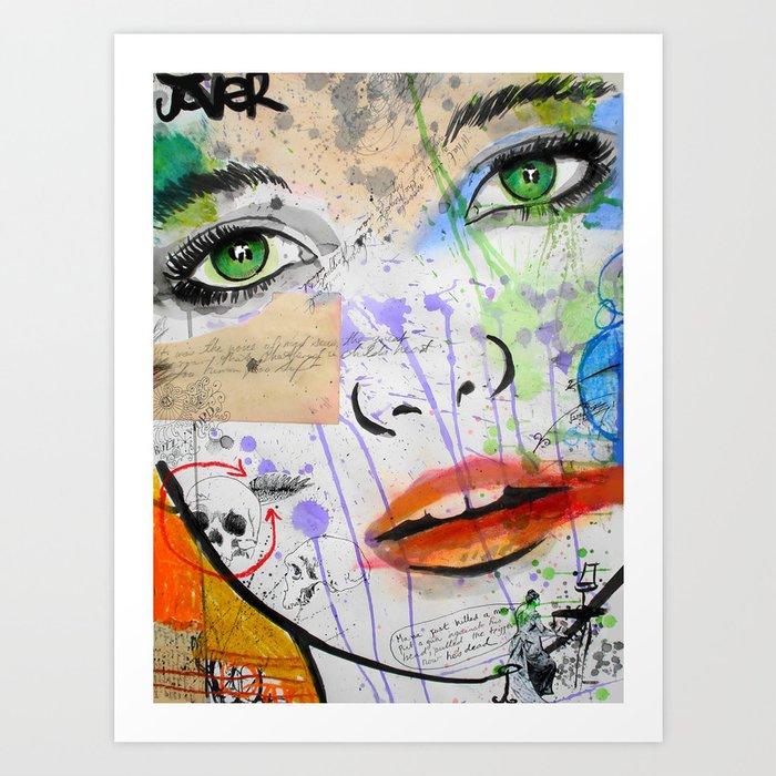 BALLAD in G Art Print