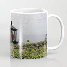 The Red Beacon On Tillamock Bay Coffee Mug