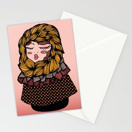 Andrea's Scarf Stationery Cards