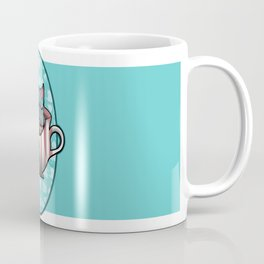 The cat in the Cup Coffee Mug