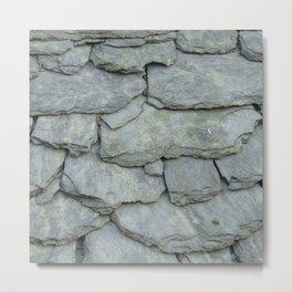 Roof stones Metal Print