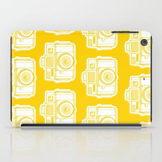 I Still Shoot Film Holga Logo - Reversed Yellow iPad Case
