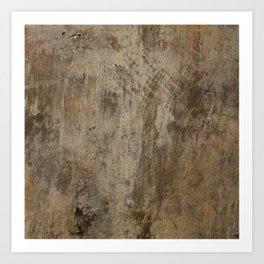 Old Brittle Wall 2 Art Print
