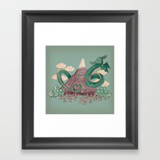 The Not-So-Lonely Mountain Framed Art Print