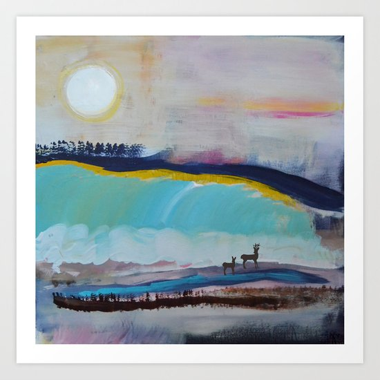 Into the Dawn Art Print