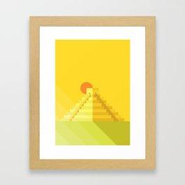 Chichén Itza Framed Art Print