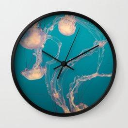 Underwater Flames Wall Clock