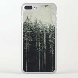 Woodsy Vintage Edition Clear iPhone Case