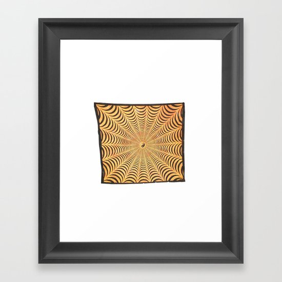 Yellow Yin Yang Spiral tapestry wall hangings by handicrunchh
