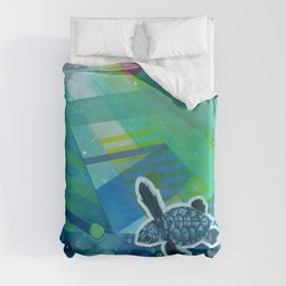 the first day Duvet Cover