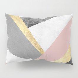 Golden bands III Pillow Sham