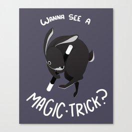 Magic Trick Canvas Print