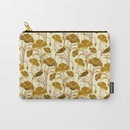 Sunfield Poppies Carry-All Pouch