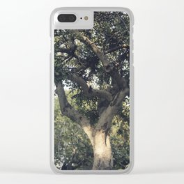 Carob tree Clear iPhone Case