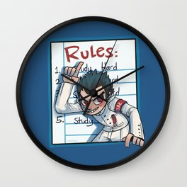 Ishimaru's Rules Wall Clock
