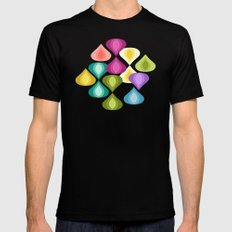 candy gouttelette Black SMALL Mens Fitted Tee