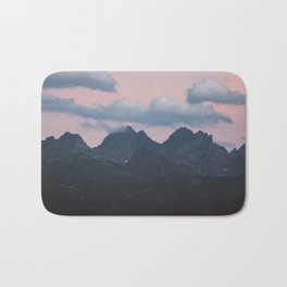 Evening vibes - Landscape and Nature Photography Bath Mat