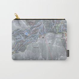 Heavenly Resort Trail Map Carry-All Pouch