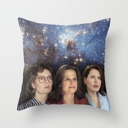 THE THREE GREAT LADIES Throw Pillow