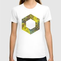 hexagon T-shirts featuring Hexagon by Daniel DeVinney