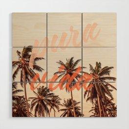 Pura Vida Wood Wall Art