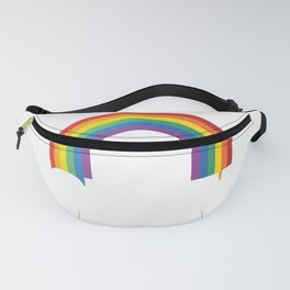 YAS Queen Against Racism for Equality design - LGBT gift Fanny Pack