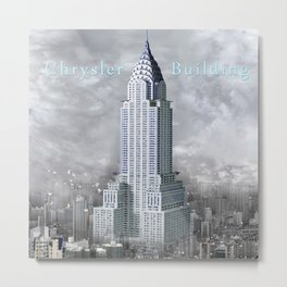 Chrysler Building (1928-1930), New York Metal Print